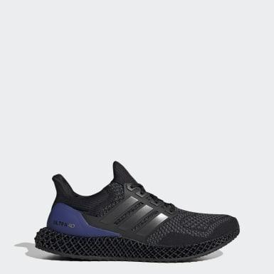 Heren Hardlopen zwart Ultra4D Schoenen