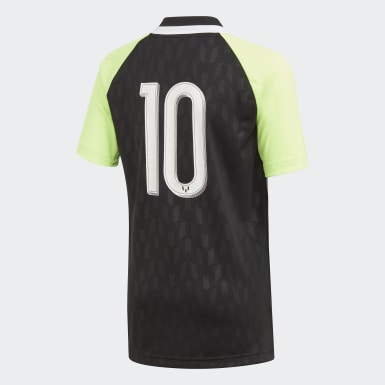 Youth Training Black Messi Icon Jersey