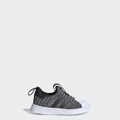 SUPERSTAR 360 I Preto Kids Originals