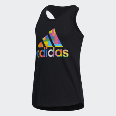 Youth Training Black Pride Lapped Tank Top