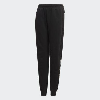 Dívky Athletics černá Kalhoty Linear