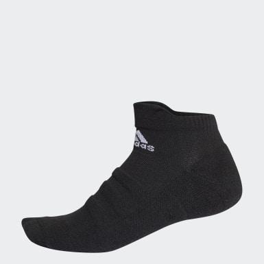 เอาท์ดอร์ สีดำ ถุงเท้า Alphaskin ยาวระดับข้อ น้ำหนักเบา