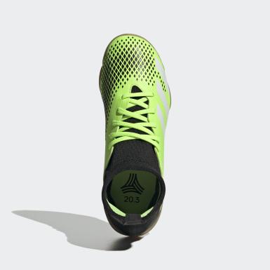 Children Soccer Green Predator Mutator 20.3 Indoor Shoes