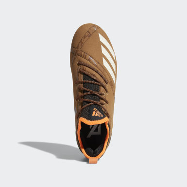 Men's Football Brown Adizero 5-Star 7.0 Upstate Low Cleats