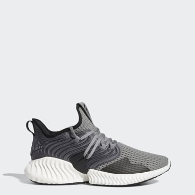 Men Running Grey Alphabounce Instinct Clima Shoes