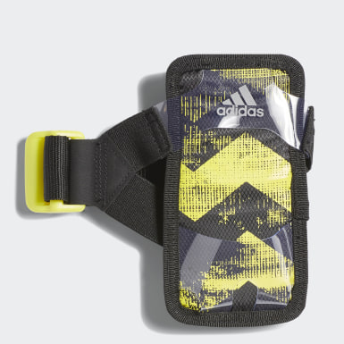 Running Black Run Mobile Phone Holder