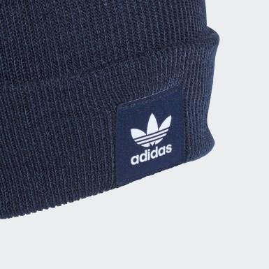 Originals Adicolor Cuff Mütze Blau