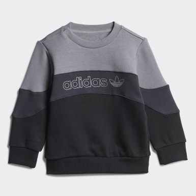 Kids Originals Grey BX-20 Crew Set