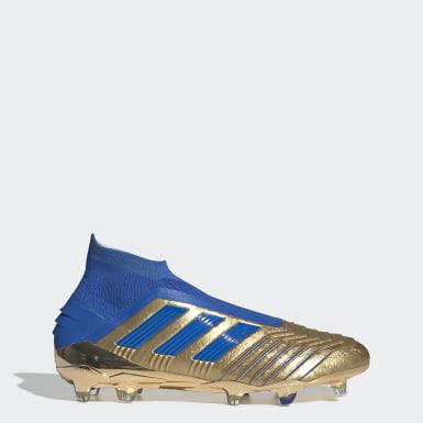 Blau + Gold Männer Fußball Schuhe | adidas Deutschland