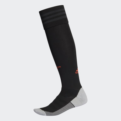 Fotboll Svart Manchester United Third Socks