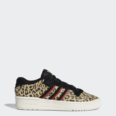 Tenis Rivalry Low Beige Mujer Originals