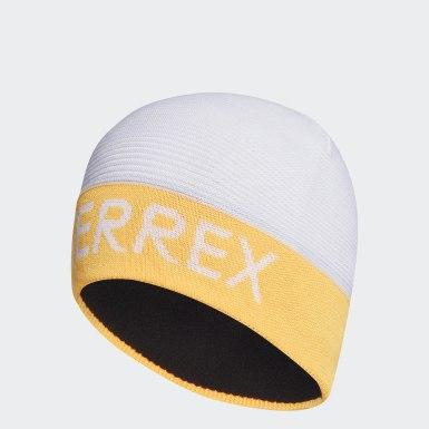 Zimní Sporty bílá Čepice Terrex Logo
