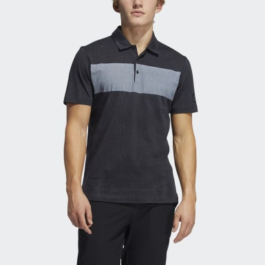 Men's Golf Grey Adicross Desert Print Polo Shirt