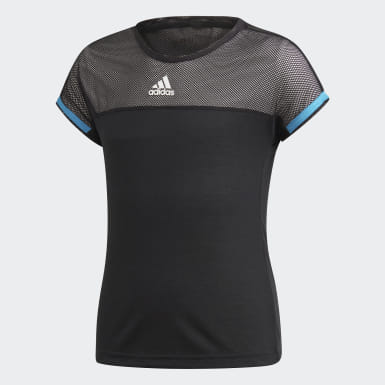 Camiseta Escouade Negro Niño Tenis