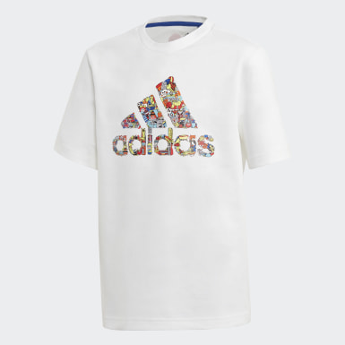Kids Training White Cleofus Tee