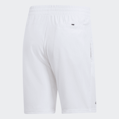 Men Tennis White Club Tennis Shorts
