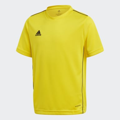 Koszulka treningowa Core 18 Żółty
