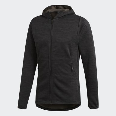 Men Training Grey FreeLift Climaheat Hoodie
