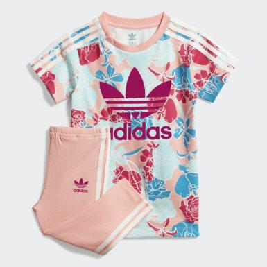 Kinder Originals T-Shirt-Kleid-Set Rosa