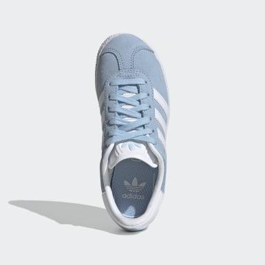 Chaussure Gazelle Bleu Enfants Originals