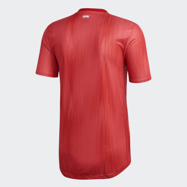 Maillot Third Real Madrid Authentique Rouge Hommes Football