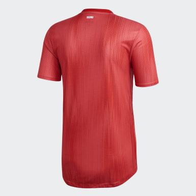 Άνδρες Ποδόσφαιρο Κόκκινο Real Madrid Authentic Third Jersey