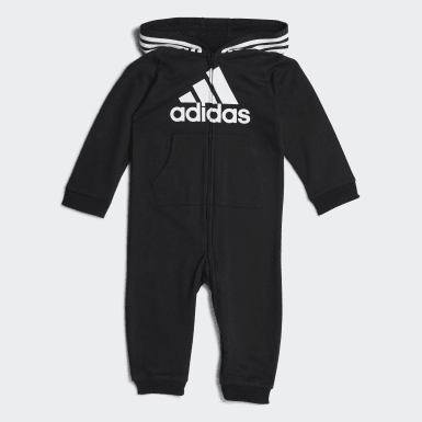 Infant & Toddler Training Black Coveralls
