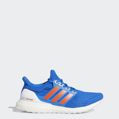 Men Running Blue Ultraboost 4.0 DNA Shoes
