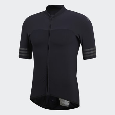 Männer Radfahren Adistar Engineered Woven Trikot Schwarz