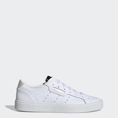 Ženy Originals biela Tenisky adidas Sleek