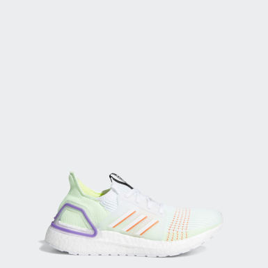 Youth Running White Ultraboost 19 Shoes