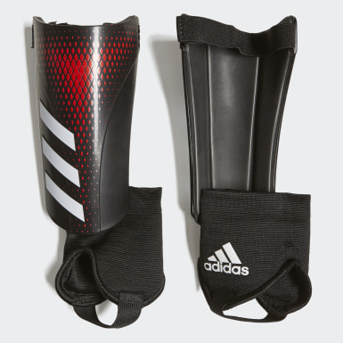 Barn Fotboll Svart Predator 20 Match Shin Guards