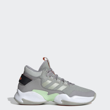 Men Basketball Grey Streetcheck Shoes