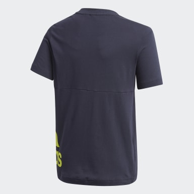 T-shirt Must Haves Big Logo Blu Ragazzo Training