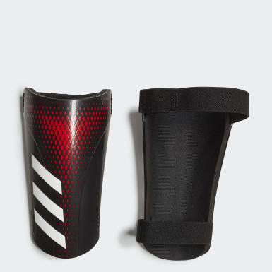 Football Black Predator 20 Training Shin Guards