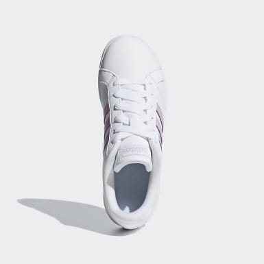 Children Essentials White Baseline Shoes