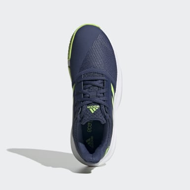 Chaussure CourtJam Bleu Enfants Tennis