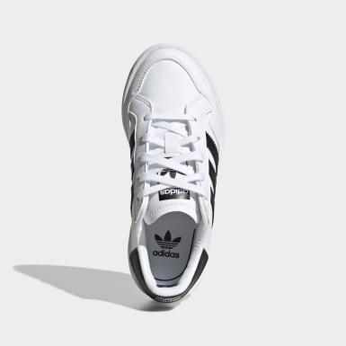 Çocuklar Originals Beyaz Team Court Ayakkabı