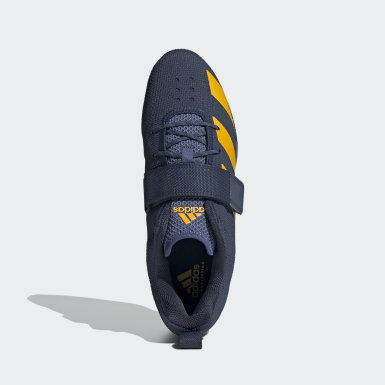Sapatos Adipower Weightlifting 2 Azul Halterofilismo