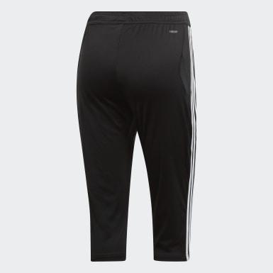 Women Soccer Black Tiro 19 3/4 Pants
