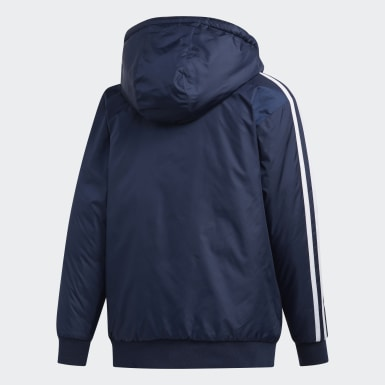 Children Training Blue Classic Bomber Jacket