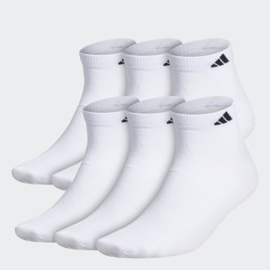 Men's Training White Superlite Low-Cut Socks 6 Pairs XL
