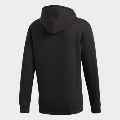 Bluza z kapturem Trefoil Czerń