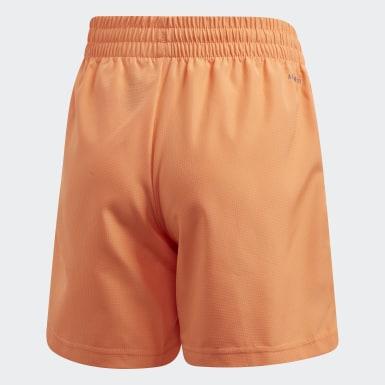 Jongens Padel Tennis Oranje Club Short