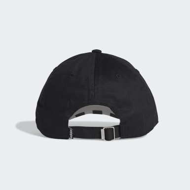 Training Black 3-Stripes Baseball Cap