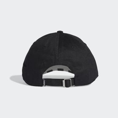 Training Black 3-Stripes Baseball Cap