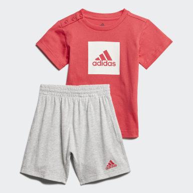 Deti Tréning ružová Súprava Logo Summer