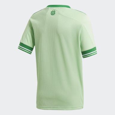 Børn Fodbold Grøn Celtic FC 20/21 udebanetrøje