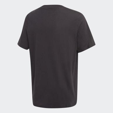 Camiseta Badge Negro Niño Originals