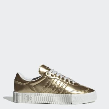 Sapatos SAMBAROSE Dourado Mulher Originals